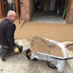 Laying of resin bonded driveway hertfordshire