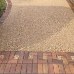 Resin Bond with block front driveway hertforshire