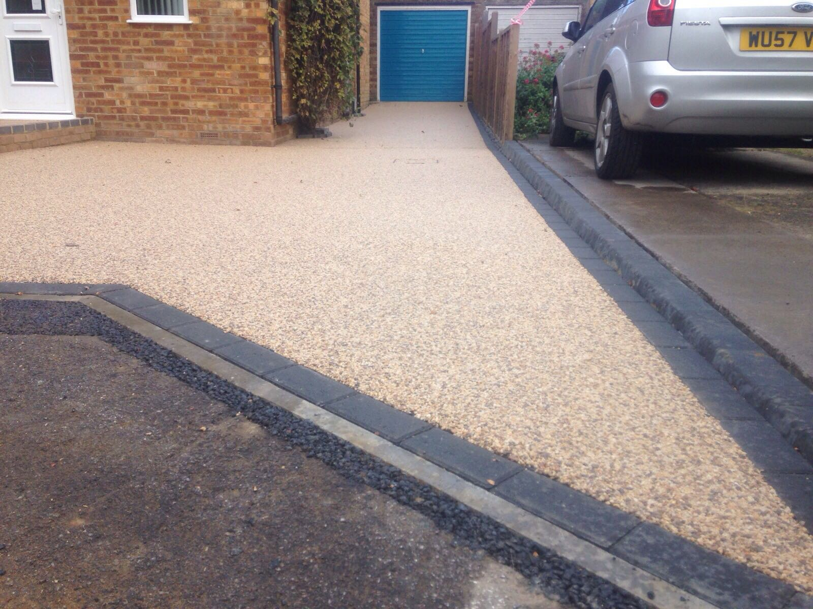 North London Resin Driveway