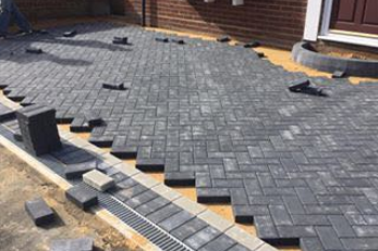 block paving company London Colney