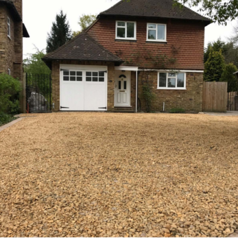 gravel driveways London Colney